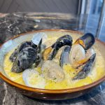 Clams and Mussels  in Chardonnay Cream
